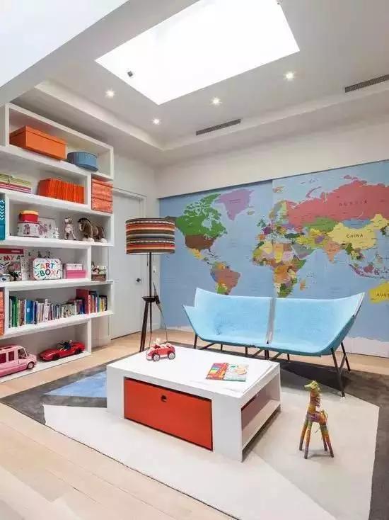 超赞儿童房设计!这才是儿童房