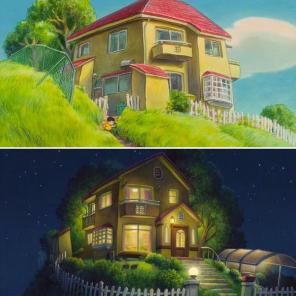 爆强!宫崎骏动画片里的家居设计!
