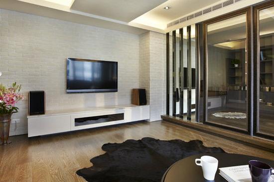 客厅电视墙装修设计图