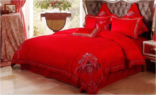 婚房卧室装修效果图 浪漫婚房卧室