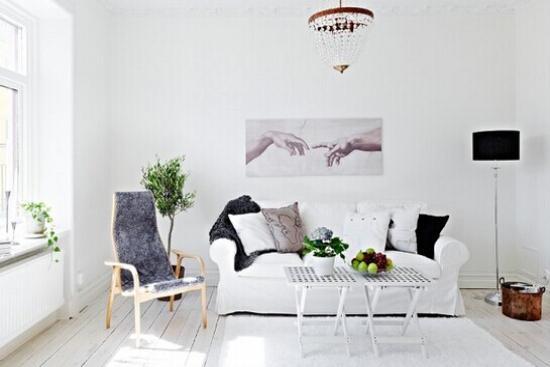 简约家居装饰 欧式风格客厅装修效果图欣赏