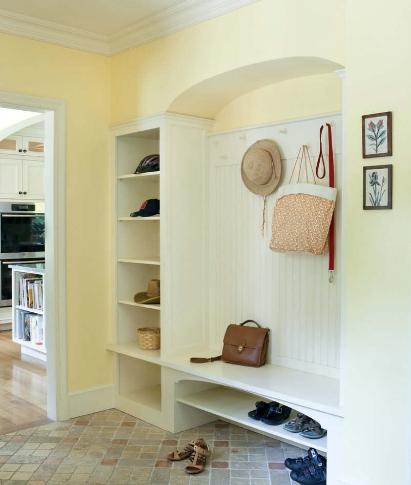其他 如何选择进门鞋柜装修效果图  鞋柜墙如今也成为了鞋柜装修的