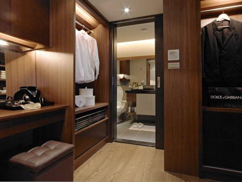 卧室衣柜内部空间设计效果图