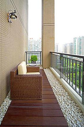 超好看的室外阳台装修效果图