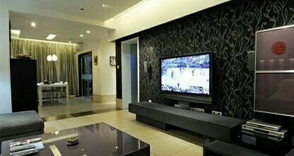 电视客厅背景墙的色调装饰