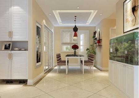 进门玄关鱼缸摆放与房型布局的关系