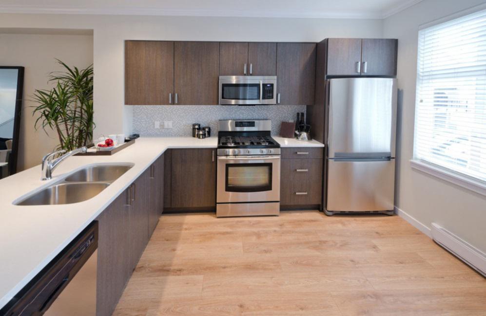厨房橱柜的设计一般有哪些种类