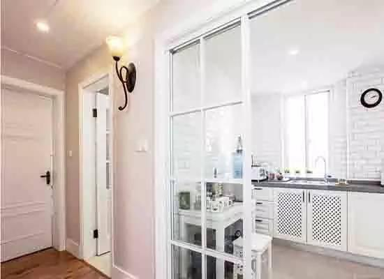 厨房玻璃隔断墙如何设计图片