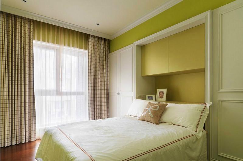 卧室窗帘装修效果图欣赏!