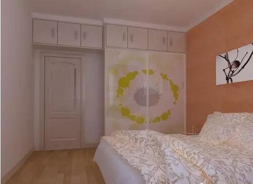 小户型卧室衣柜 我们继续来看看第六款小户型卧室衣柜,这款衣柜是一个欧式简约风格,清透简约的外形,内在实用,时尚的设计,推拉方便,收纳衣物更加的轻松,为您打造舒适的卧室空间,这款衣柜采用腰带装饰玻璃,通透明亮,优雅的镂空花纹,婉约轻灵的图案透露出精致,让优雅跃然柜上。