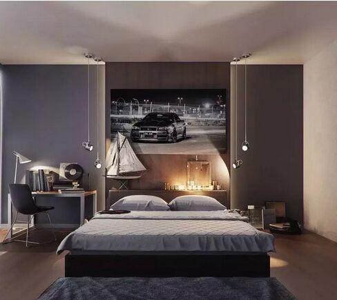 卧室装潢设计效果图 够实用!-维意定制家具商城