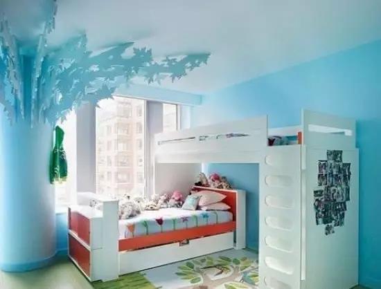 臥室裝修 上下鋪兒童房效果圖