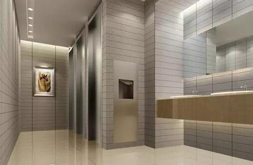 精心的地砖拼图设计,将整个卫生间的 装修效果再次推向时尚浪潮的最