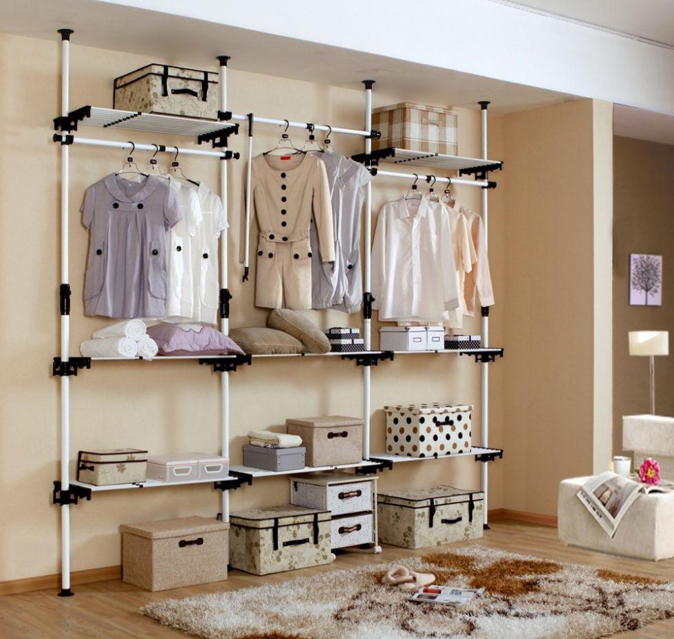 商城家具在生活中的定制-维意便利衣柜简易木稠家具图片