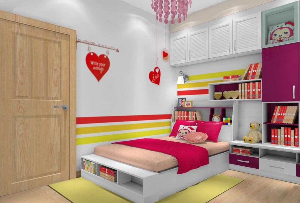 儿童房间钱柜娱乐qg666摆设,怎样布置才最好?
