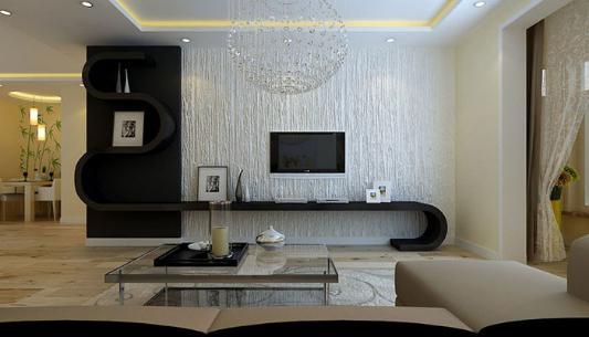 什么是硅藻泥电视背景墙