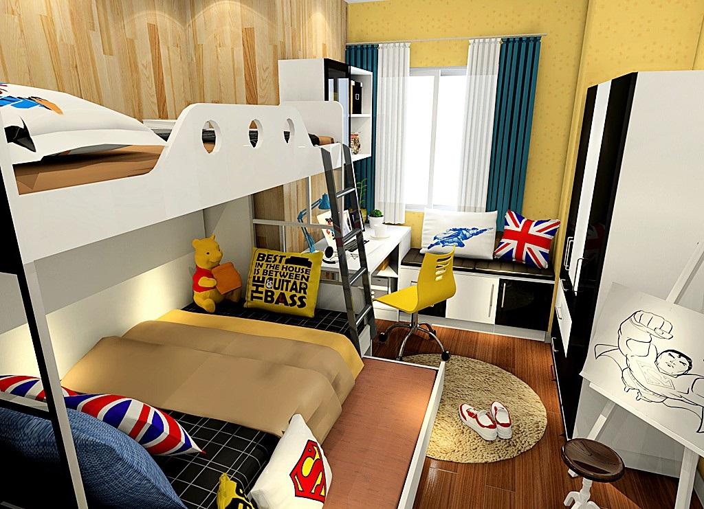 8平米儿童房装修设计更精致,这个很难吗?
