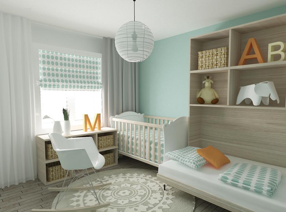 感受大自然的清新 装修效果图中我们可以看到,房间很是可爱,但是一点