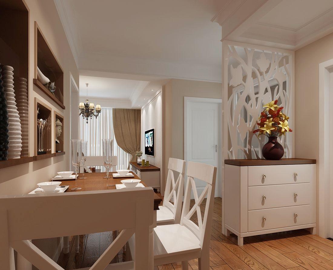1 简约的欧式玄关鞋柜 欧式双面烤漆玄关鞋柜,雕花描银实木层板隔断