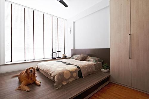 卧室 榻榻米床装修效果图大集合  欧式榻榻米床装修比较偏向森系一些图片