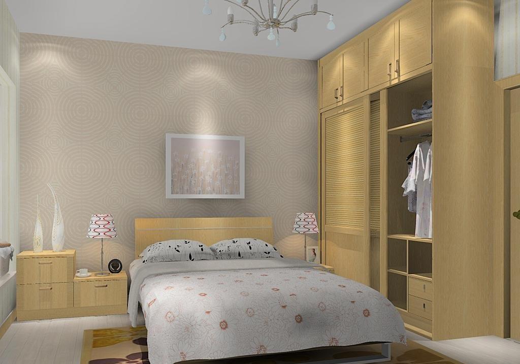 卧室家具摆放 求设计图图片
