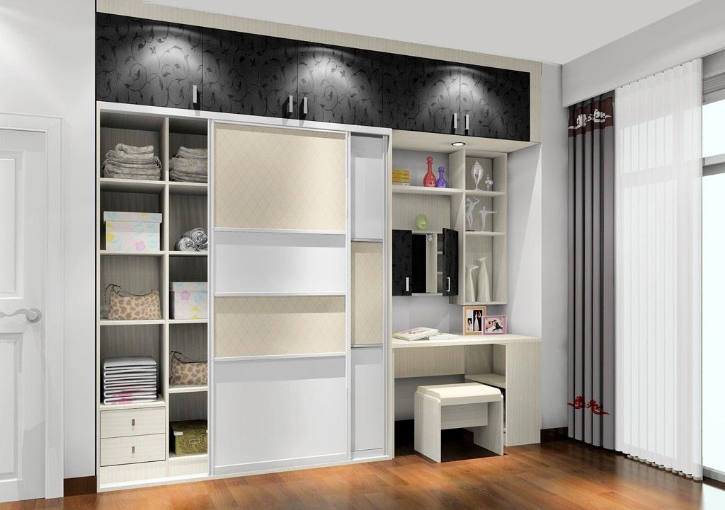 衣柜设计效果图,小户型卧室设计就这么简单!  卧室衣柜设计效果图2016新款 1.卧室衣柜设计-榻榻米组合  卧室衣柜设计效果图2016新款 适合面积非常小的户型,将衣柜置入榻榻米床一侧,最大限度利用了房间面积,为卧室其他功能区腾出面积。同时榻榻米床强大的收纳功能与衣柜相结合更能集中规划、分区,让收纳事半功倍。 2.