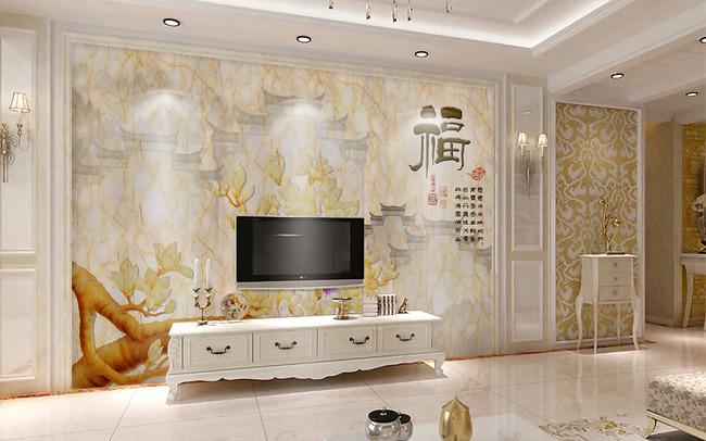 电视背景墙的壁纸都有哪些好看效果图