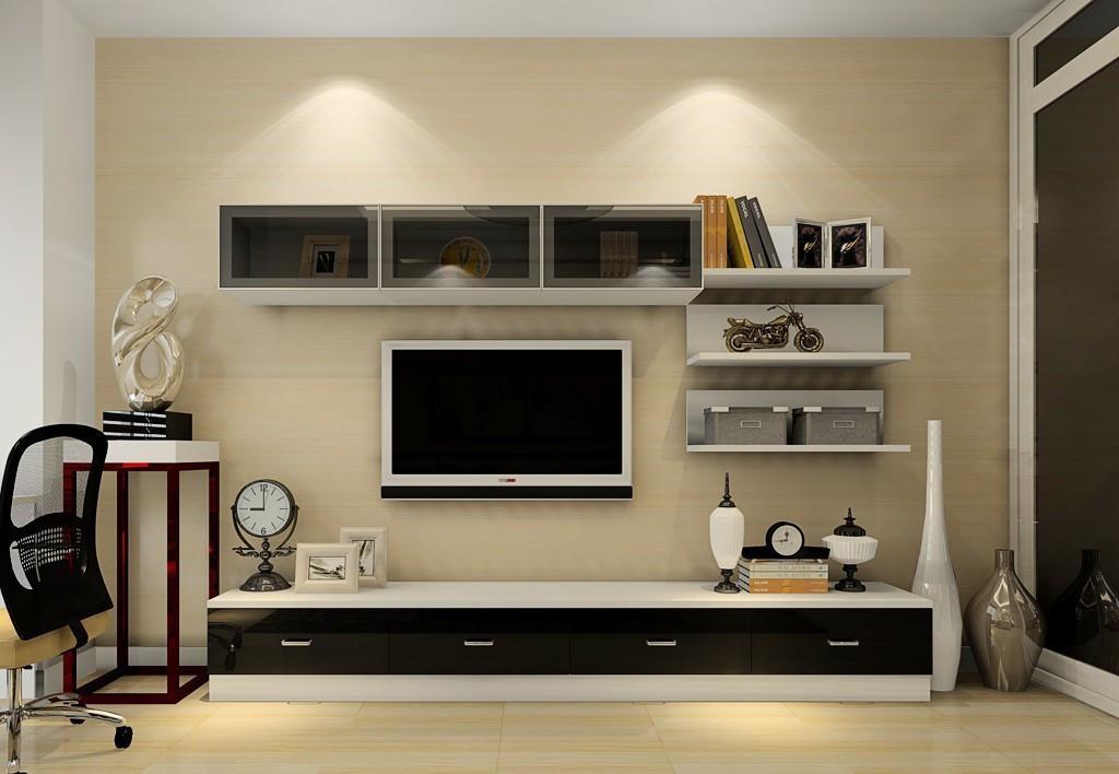 客厅电视柜地柜怎么装修才好看?