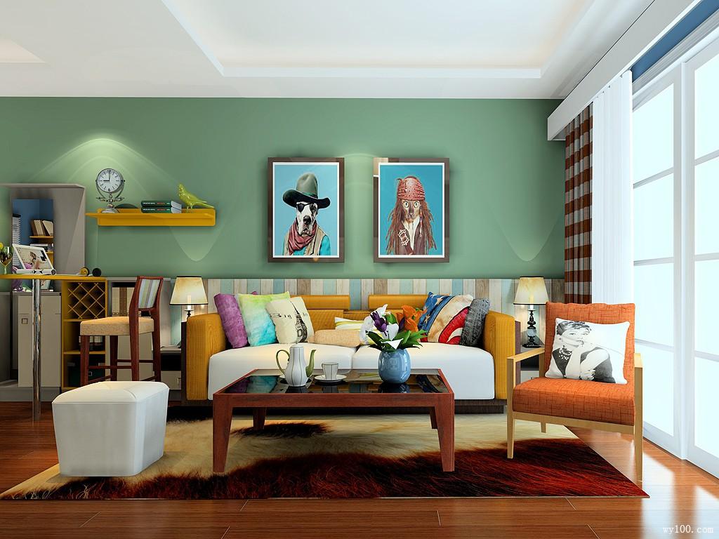 客厅沙发摆放方式你知道几种?图片