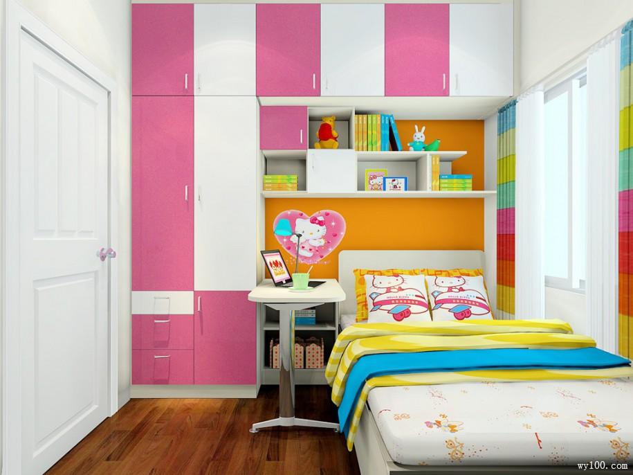 创意儿童衣柜-维意定制