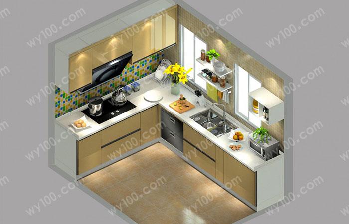 小厨房装修--维意定制网上商城