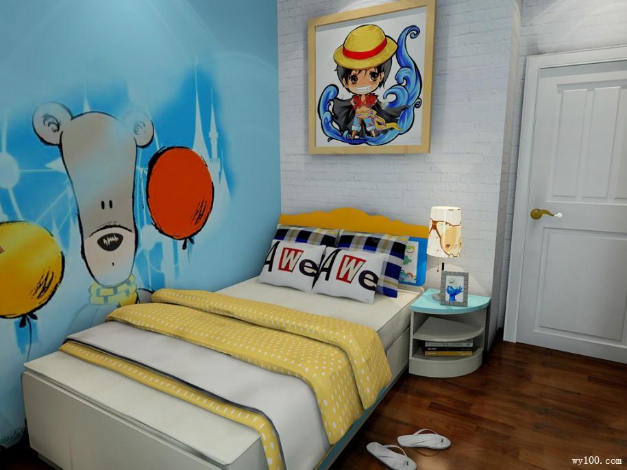 普通儿童房装修效果图介绍