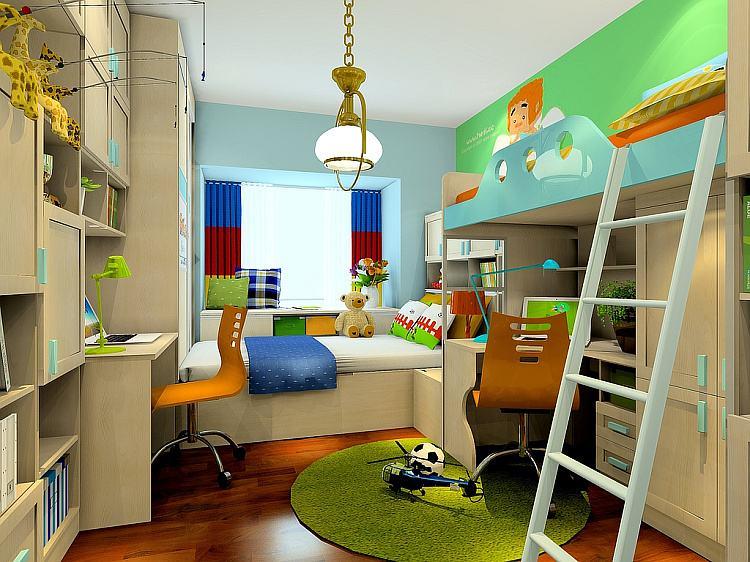 儿童房高低床家具的特点--维意定制家具网上商城