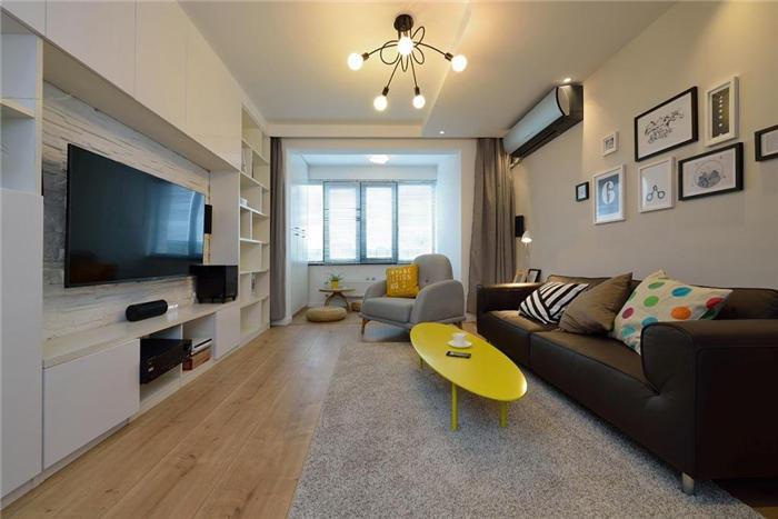 白色电视柜的装饰--维意定制家具网上商城