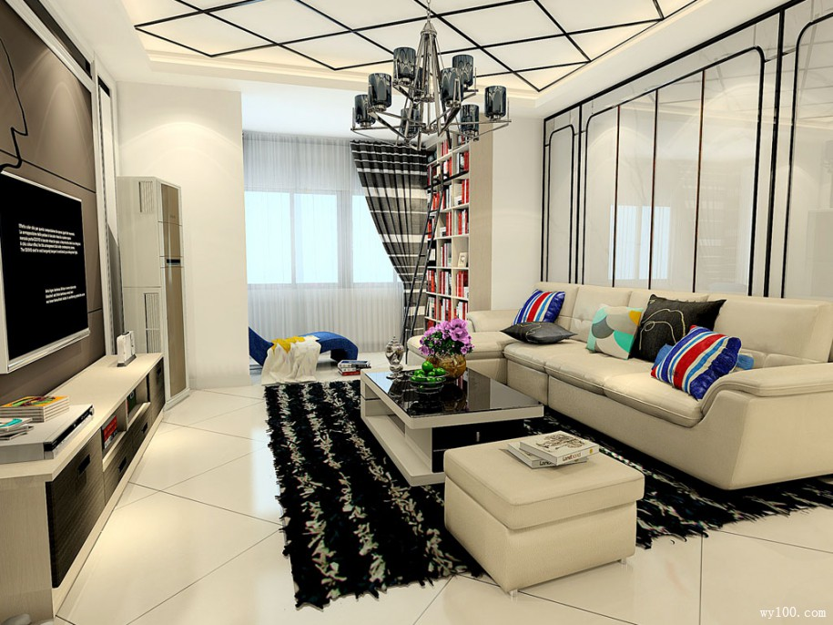 现代简约风格客厅家具搭配须知