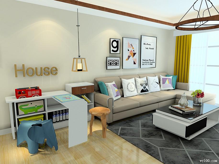小客厅家具颜色搭配小妙招