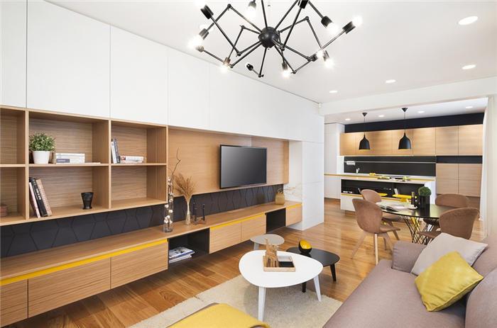 小户型客厅沙发怎么摆放--维意定制家具网上商城