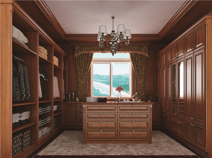 有衣帽间的卧室设计--维意定制家具网上商城