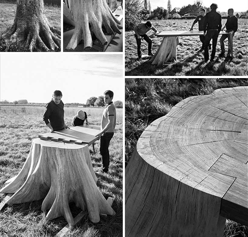 平方根形状创意餐桌