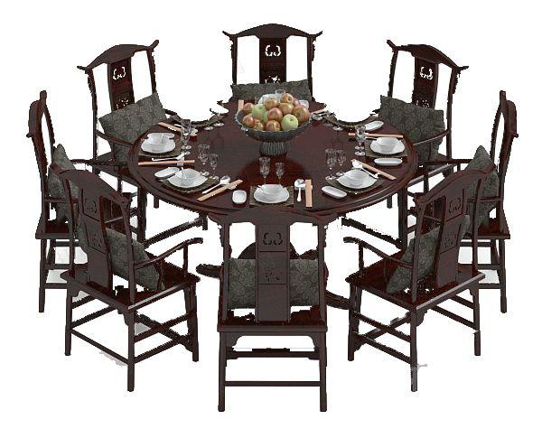 中式餐桌尺寸--维意定制家具网上商城