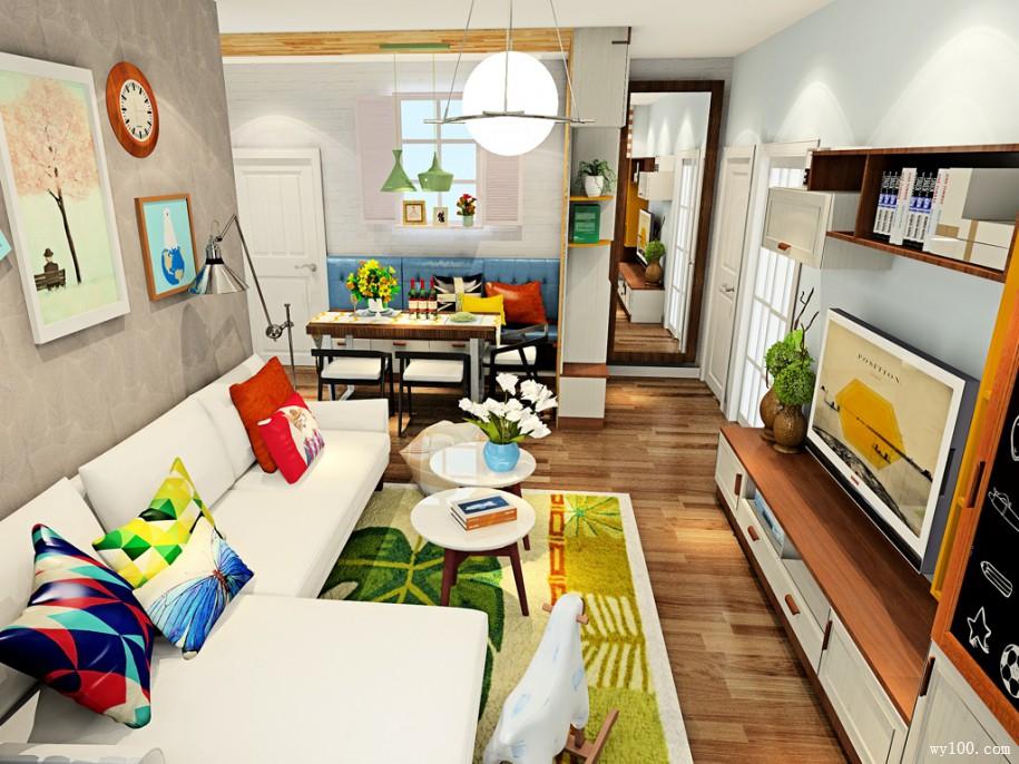 你了解简约客厅色彩搭配的技巧吗?