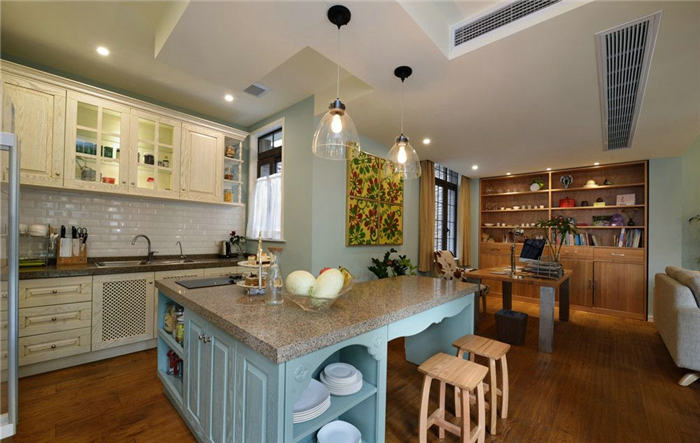 什么样开放式厨房吧台尺寸最标准?