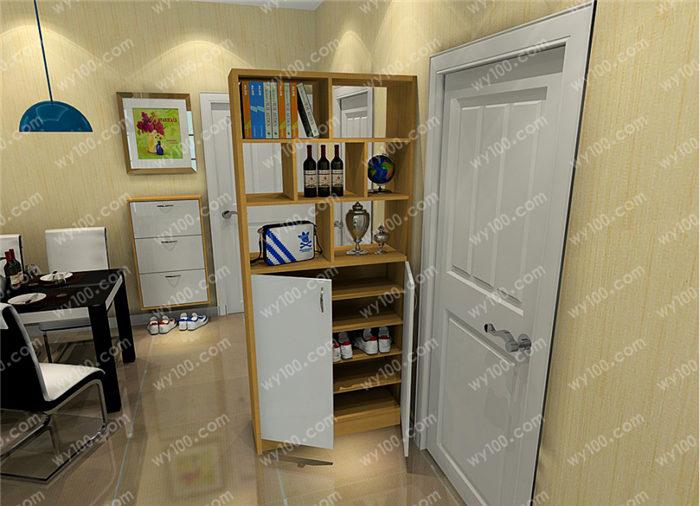 进门装饰鞋柜怎么做到空间利用?