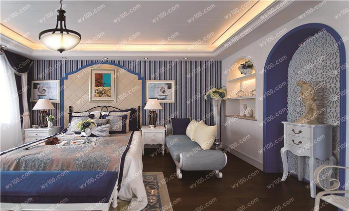 家庭装修卧室墙面什么颜色好?