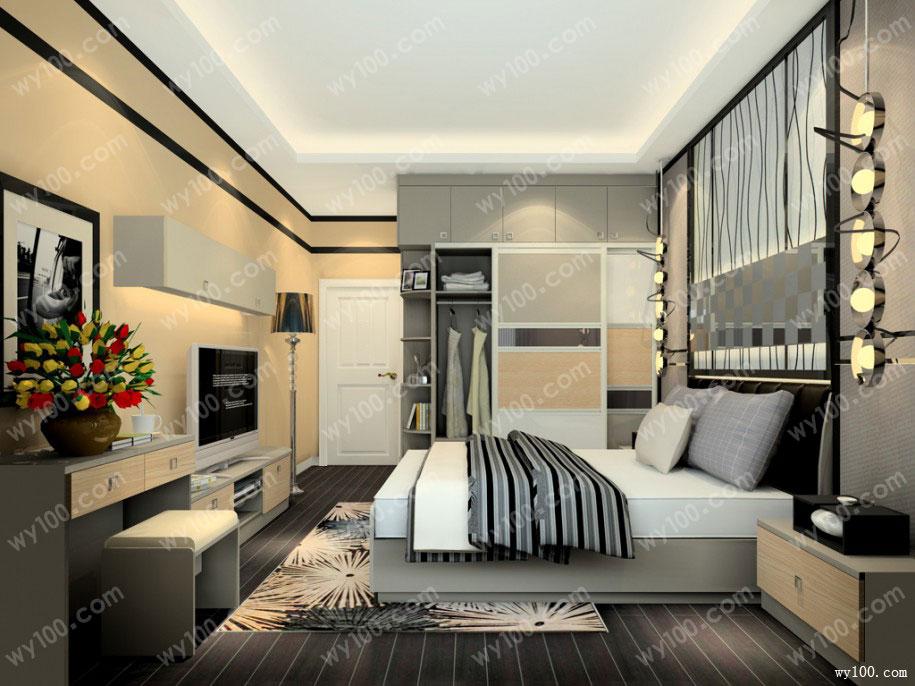 法式风格卧室的特点,自然气息浓重