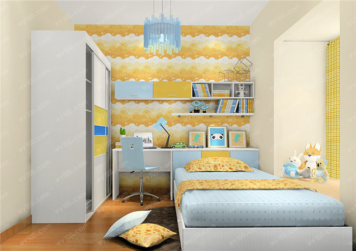 儿童房家具应该怎么摆放 - 维意定制家具网上商城