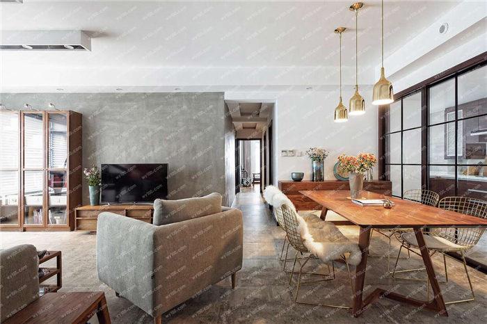 客厅餐厅一体装修优缺点 - 维意定制家具网上商城