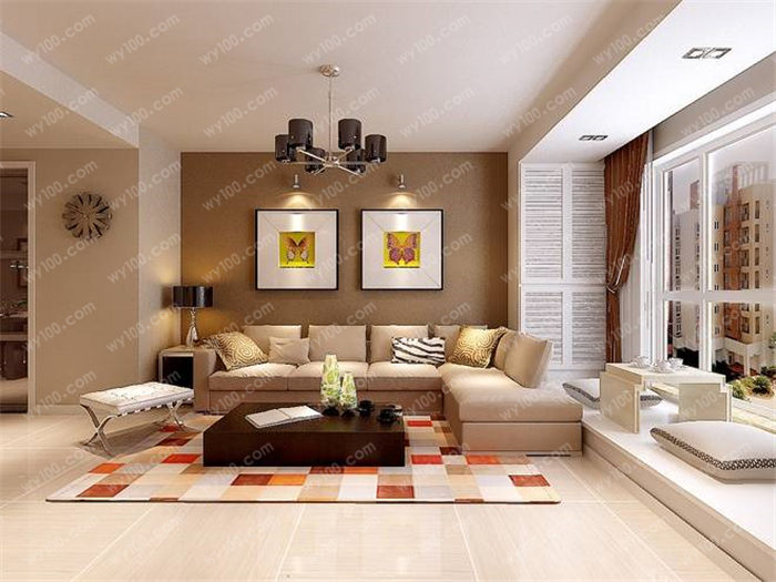 简欧风格客厅瓷砖如何选购 - 维意定制家具网上商城