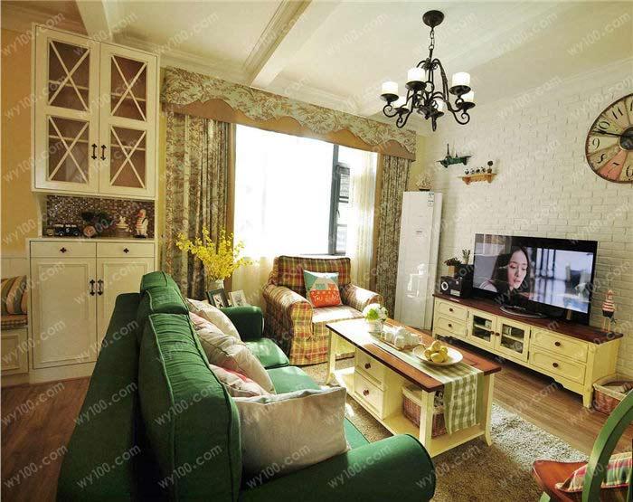 田园风格的客厅家具怎么搭配 - 维意定制家具网上商城