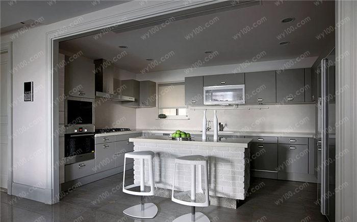 套内80平米开放式厨房装修要点 - 维意定制家具网上商城